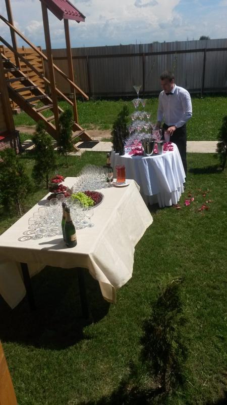Свадебный фуршет на природе: стильная и оригинальная свадьба