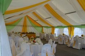 Свадьба в Тверской области с комфортом на свежем воздухе